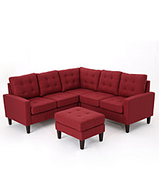 Mitchell 4-Pc. Sectional Sofa Set, Quick Ship