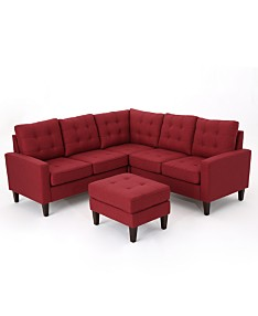 Red Sofas & Couches - Macy\'s