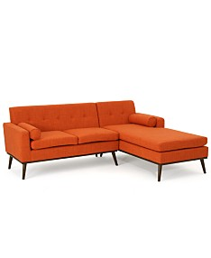 Orange Sectional Sofas & Couches - Macy\'s