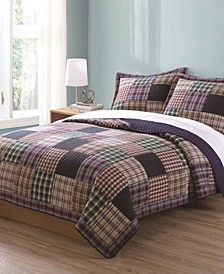 Bradley Full/Queen Quilt with 2 Shams