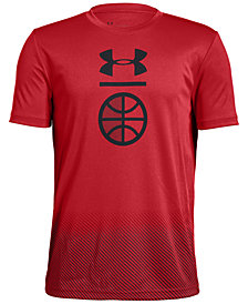 Under Armour Big Boys Graphic-Print T-Shirt