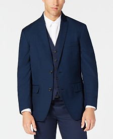 I.N.C Men's Classic-Fit Navy Twill Suit Jacket, Created for Macy's