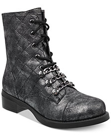G by GUESS Meera Combat Booties