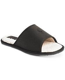 Polo Ralph Lauren Men's Antero Leather Slide Slippers