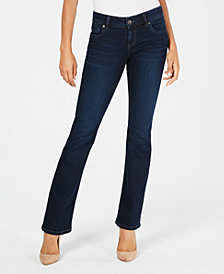 Kut from the Kloth Natalie High-Rise Bootcut Jeans, Created for Macy's