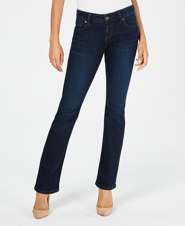 Kut from the Kloth Natalie Mid-Rise Bootcut Jeans