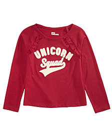Epic Threads Little Girls Unicorn Squad T-Shirt, Created for Macy's