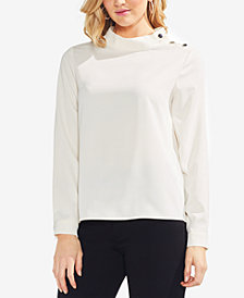 Vince Camuto Mock-Neck Top