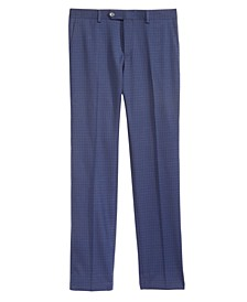 Big Boys Mini-Check Dress Pants