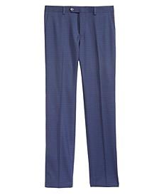 Big Boys Mini-Check Dress Pants