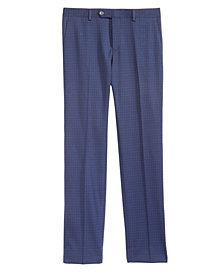 DKNY Big Boys Mini-Check Dress Pants