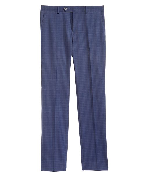 DKNY Big Boys Mini-Check Dress Pants