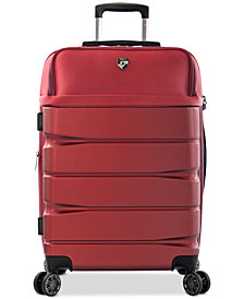 "Heys Charge-A-Weigh 26"" Hybrid Spinner Suitcase"