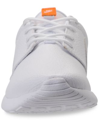 fdf208b5939d Women s Roshe One Premium Just Do It Casual Sneakers from Finish Line