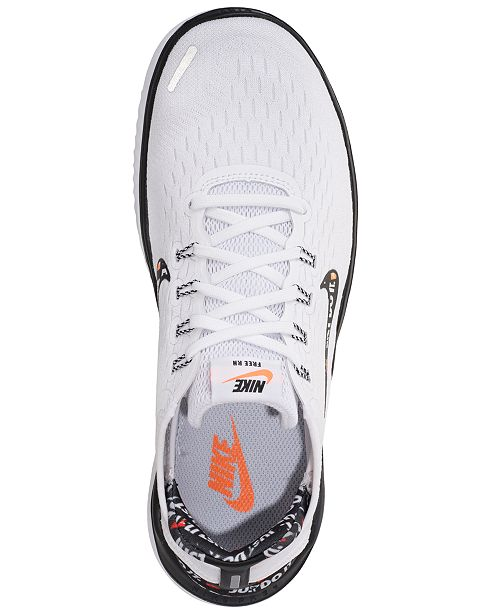 ... Nike Women s Free RN 2018 Just Do It Running Sneakers from Finish Line  ... 5244e4377c