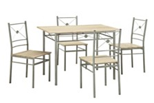 Bedford Bay Transitional Five-Piece Dining Set