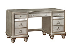 Rosebank Seven-Drawer Vanity Desk