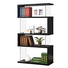 Weeksville Contemporary Four-tier Bookcase