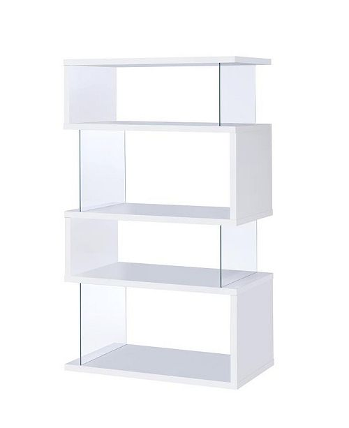 Coaster Home Furnishings Weeksville Contemporary Four-tier Bookcase