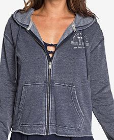 Roxy Juniors' Moon Rising Zip-Up Hooded Sweatshirt