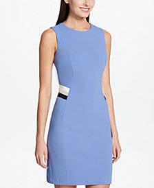 Tommy Hilfiger Sleeveless Sheath Dress