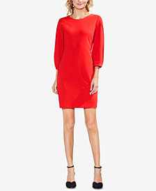 Vince Camuto Bubble-Sleeve Dress