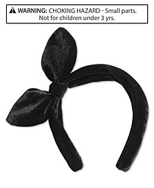 On the Verge Little & Big Girls Velvet Knot-Bow Headband