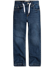 Levi's®Toddler Boys Drawstring Denim Jogger Pants