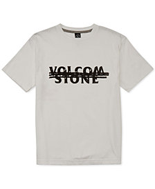 Volcom Big Boys Cross Out Graphic Cotton T-Shirt