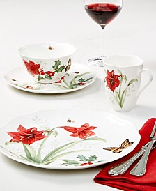 Lenox Butterfly Meadow Holiday Dinnerware Collection