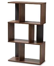 Amahle Display Bookcase, Quick Ship