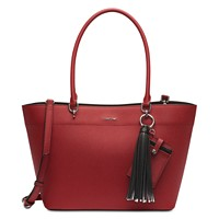 Deals on Calvin Klein Susan Saffiano Leather Tote