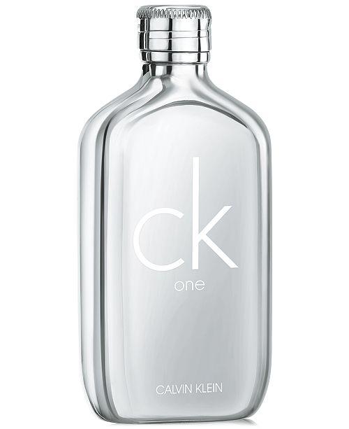 Oz 7 Ck Eau Platinum Toilette Klein Spray6 One Edition Calvin De ulFT1c3KJ5