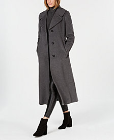 Calvin Klein Notch-Collar Maxi Coat