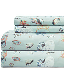 Coastal 4-Pc. Printed Full Sheet Set