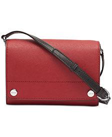 Calvin Klein Susan Saffiano Leather Crossbody