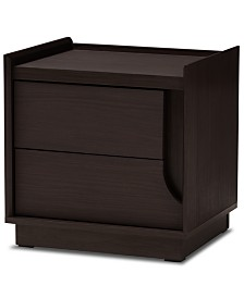 Bahati 2-Drawer Nightstand, Quick Ship