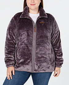 Columbia Plus Size Fire Side™ II Fleece Zip Jacket