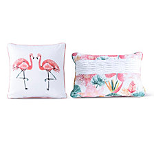 Sara B Calypso 2-piece Decorative Pillow Set