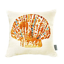 Sara B Seashell Square Accent Pillow