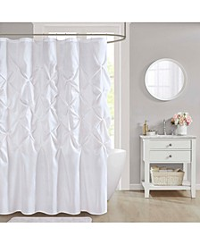 "CLOSEOUT! Laurel 72"" x 72"" Faux-Silk Shower Curtain"