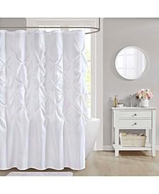 "CLOSEOUT! Laurel 72"" x 72"" Faux-Silk Shower Curtain"