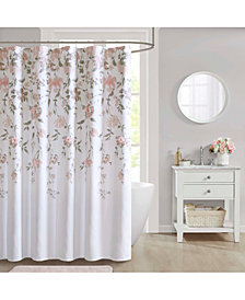 "Décor Studio Crystal 72"" x 72"" Shower Curtain"