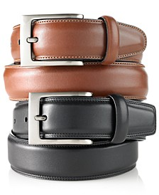 Portfolio Men's Big and Tall Full Grain Leather Belt