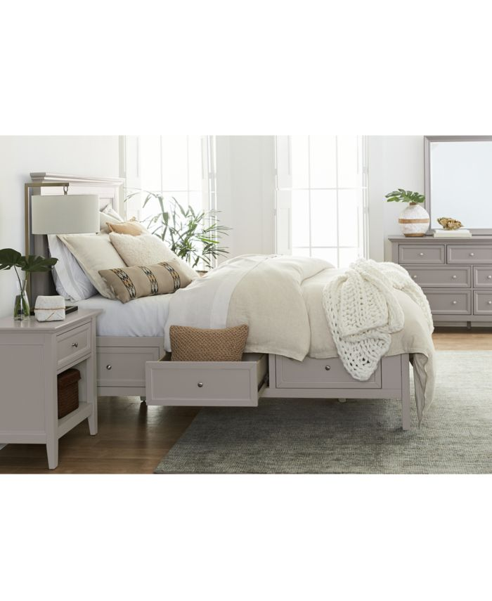 Furniture Sanibel Storage King Bed, Created for Macy's & Reviews - Furniture - Macy's