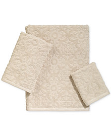 Avanti Tiles Cotton Bath Towel Collection