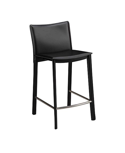 """Moe's Home Collection Panca Counter Stool 26"""" Black"""