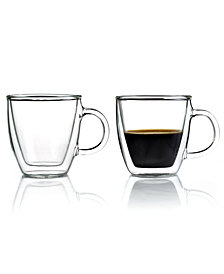 Bodum Bistro Set of 2 Double Walled 5 Oz. Espresso Mugs