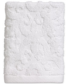 Avanti Tiles Cotton Terry Washcloth