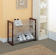 Organize it All 3 Tier Stackable Shoe Rack
